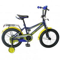 Велосипед 14 TechTeam Canyon цвет: синий (сталь)