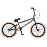 Велосипед трюкавой 20 TT Grasshoper серо-зелёный