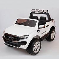 Электромобиль детский Ford Ranger F650 45437 (Р) с монитором, Полный привод, (Лицензионная модель) белый