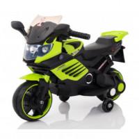 Электромотоцикл детский 46475 зеленый