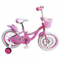 Велосипед 20 Bibitu ANGEL розовый со светодиодами