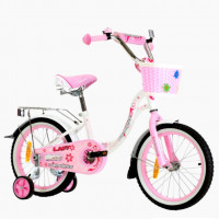 Велосипед 20 Nameless Lady, белый/розовый