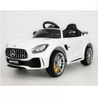 Электромобиль детский Mercedes-Benz AMG GT R, одноместный  45489  (Р)  (Лицензионная модель)  белый