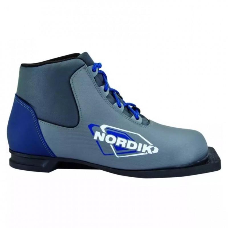 Ботинки лыжные  43р. 75мм Nordic синт син