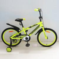 Велосипед 18 Nameless Sport, жёлтый/чёрный