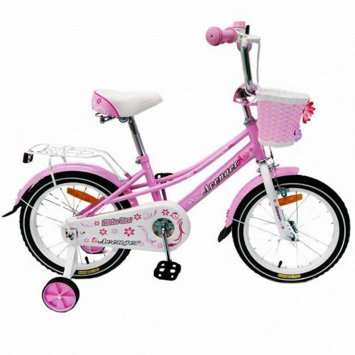 Велосипед 12  AVENGER LITTLE STAR, розовый/белый