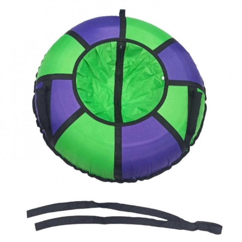 Тюбинг  CH- 85-ТО цвет N02  зелёный/фиолетовый , д=85см 1/5