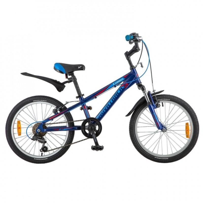 Велосипед 20 Novatrack AH6V.Lumen.BL9 синий АЛ 6-скоростей