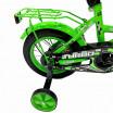 Велосипед 12 OSCAR TURBO красный/зелёный  АКЦИЯ!!!