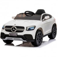 Электромобиль детский  Mercedes-Benz Concept GLC Coupe BBH-0008, 50524 (Р) белый