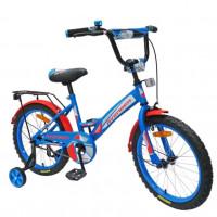 Велосипед 12  AVENGER NEW STAR, голубой/красный
