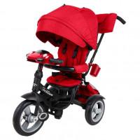 Детский 3-х колёсный велосипед TT Luxury красный 1/1 12/10 (P)