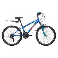 Велосипед 24 Novatrack SH18SV.ACTION.12BL21 18ск. синий
