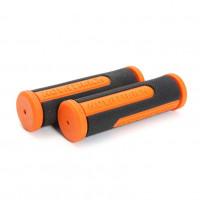 Грипсы Novatrack, 110мм, черно-оранжевый (РТ1585С)