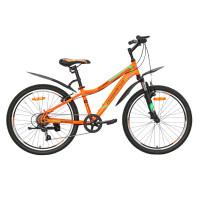 Велосипед 24 Nameless S4100-OR/BL-13(21), оранжевый/синий