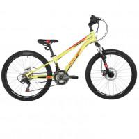 Велосипед 24 Novatrack 24SH18SD.ACTION.12GN21 18ск.зелёный
